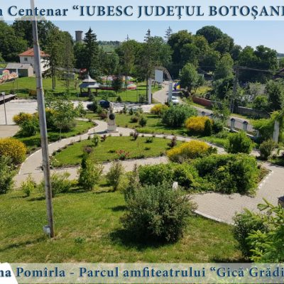 17 Pomirla - parcul amfiteatrului Gica Gradinariu