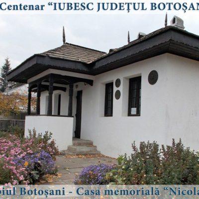 56 Botosani - casa memoriala Nicolae Iorga
