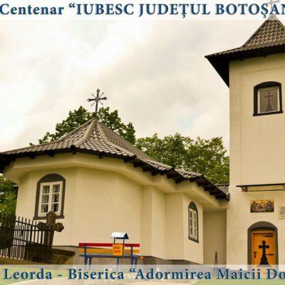83 Leorda - Biserica Adormirea Maicii Domnului