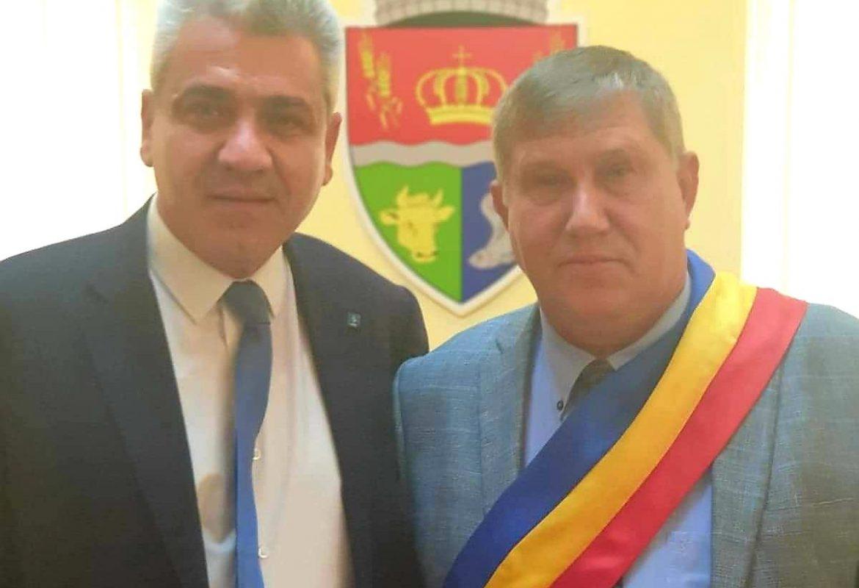 Cozmin Epuraș, învestit pentru un nou mandat la conducerea Primăriei Stăuceni.