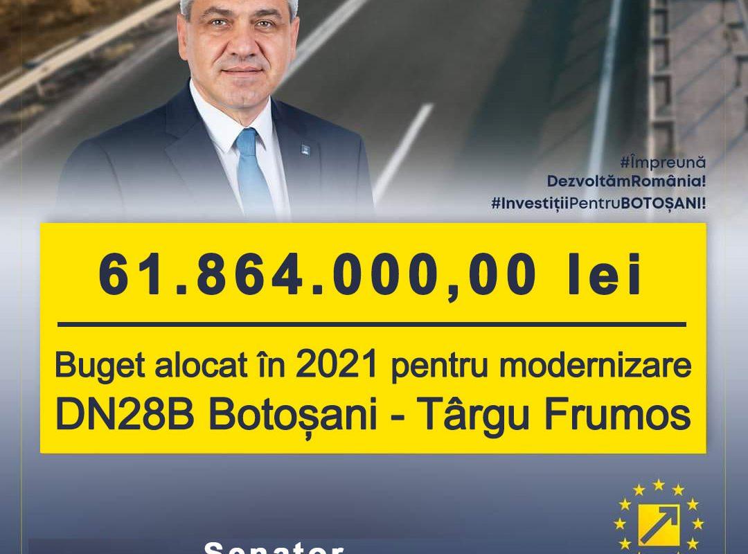 Bugetul de stat cel mai favorabil dezvoltării județului Botoșani din ultimii 30 de ani