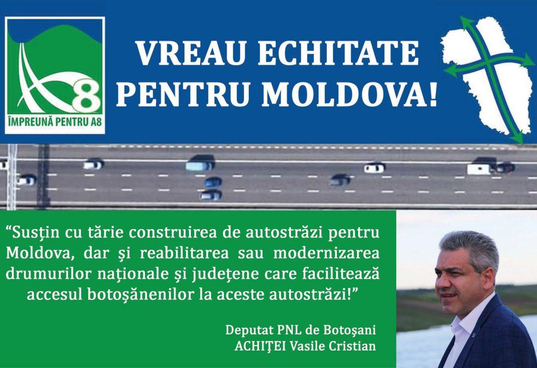 SUSŢIN CU TĂRIE CONSTRUIREA DE AUTOSTRĂZI PENTRU MOLDOVA!