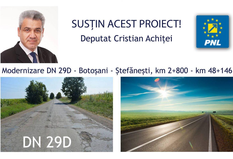 Săptămâni vitale pentru modernizarea DN29D