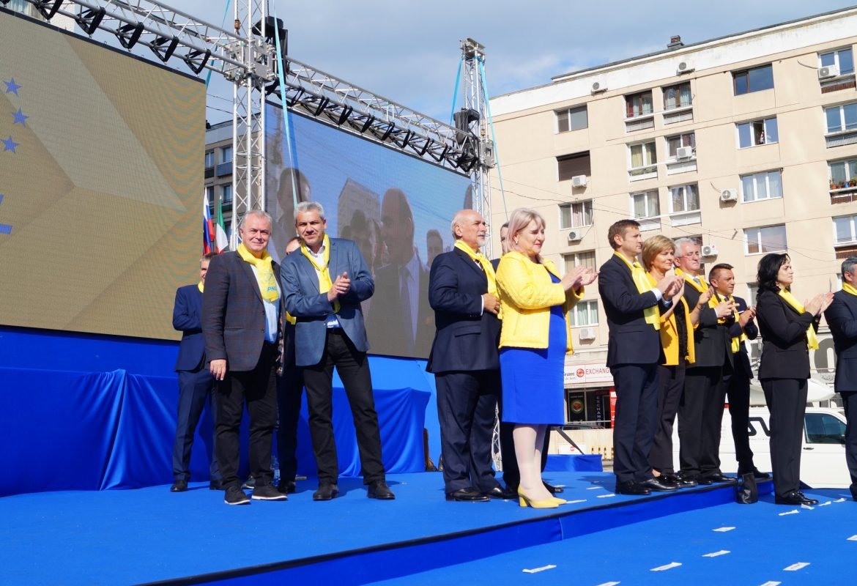 Forța liberalilor din Moldova, demonstrată la Iași