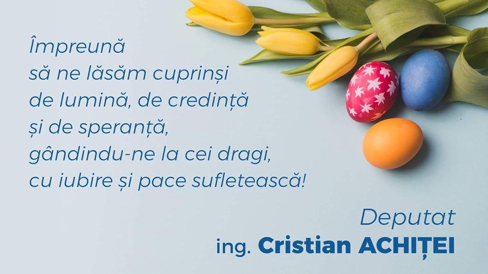 Să trăim bucuria Sfintelor Sărbători Pascale fără riscuri pentru noi și cei dragi nouă!