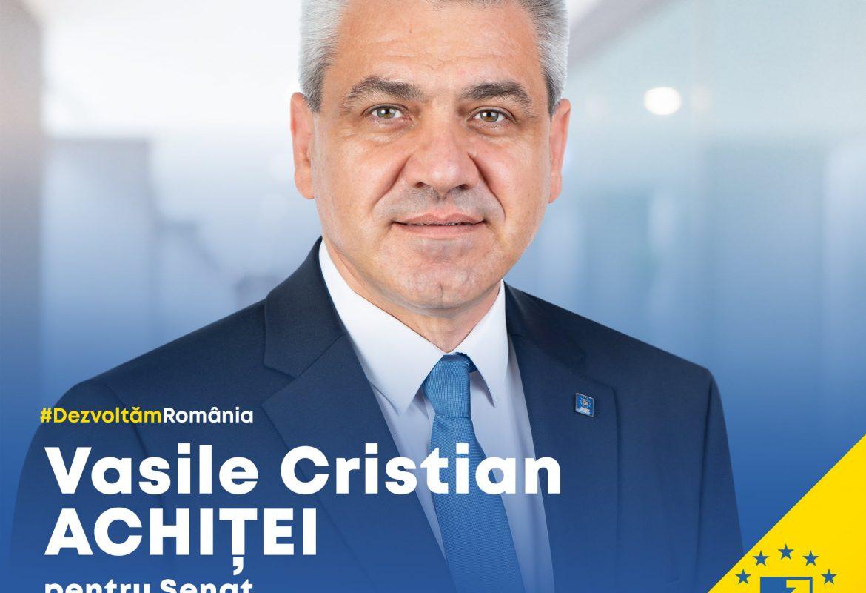 Cristian Achiței – candidat pentru Senat